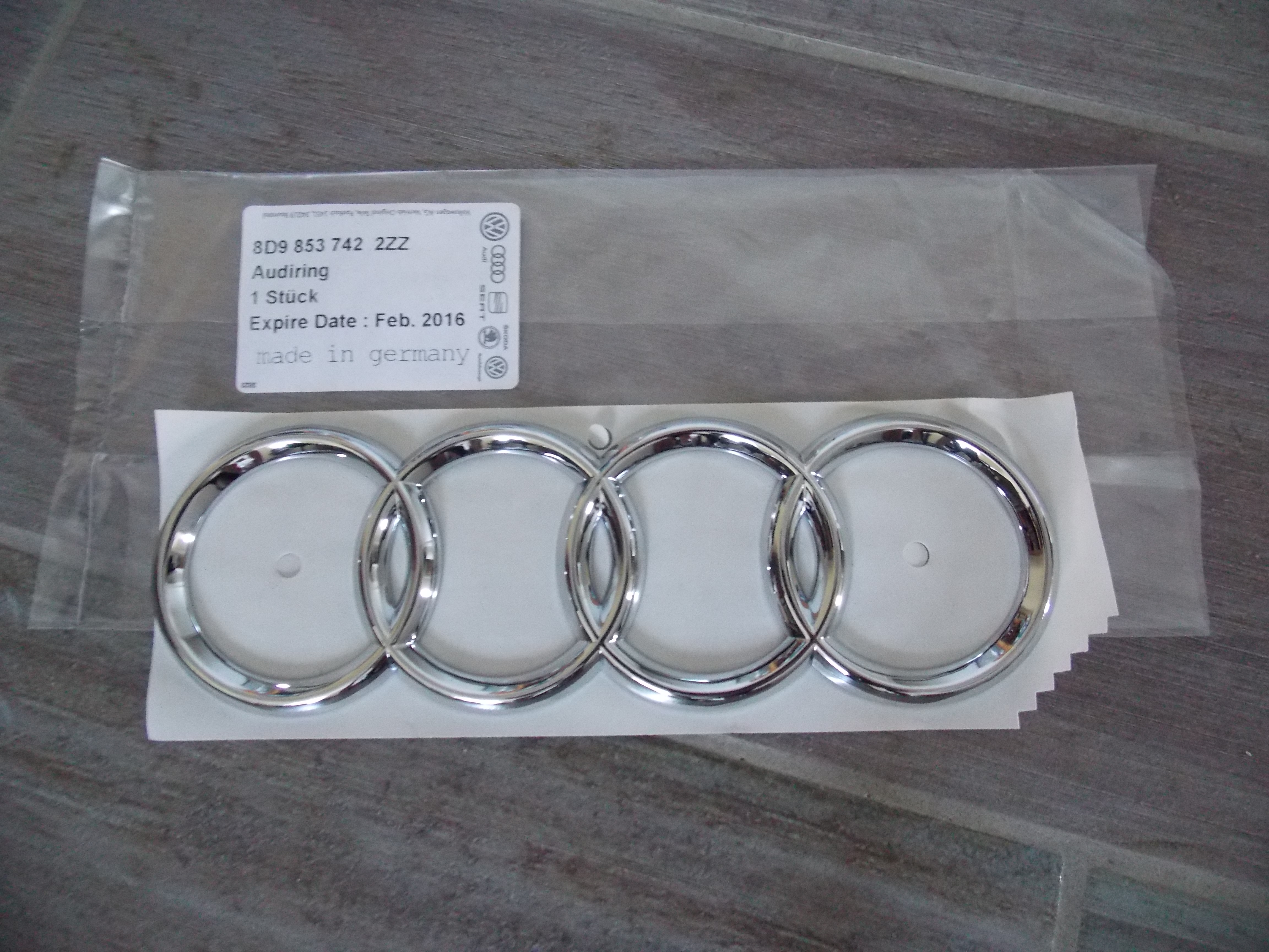 Audi Ringe Schwarz Grill Emblem A1 A3 A4 A5 A6 A8 S6 Rs5 S5 Rs4 S4 S3 ...